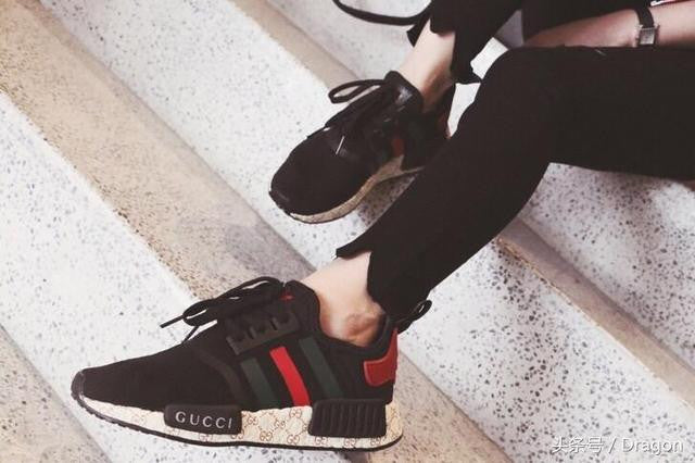 Riding Adidas Black Gucci X NMD R1 Boost Reel Mowers HQ