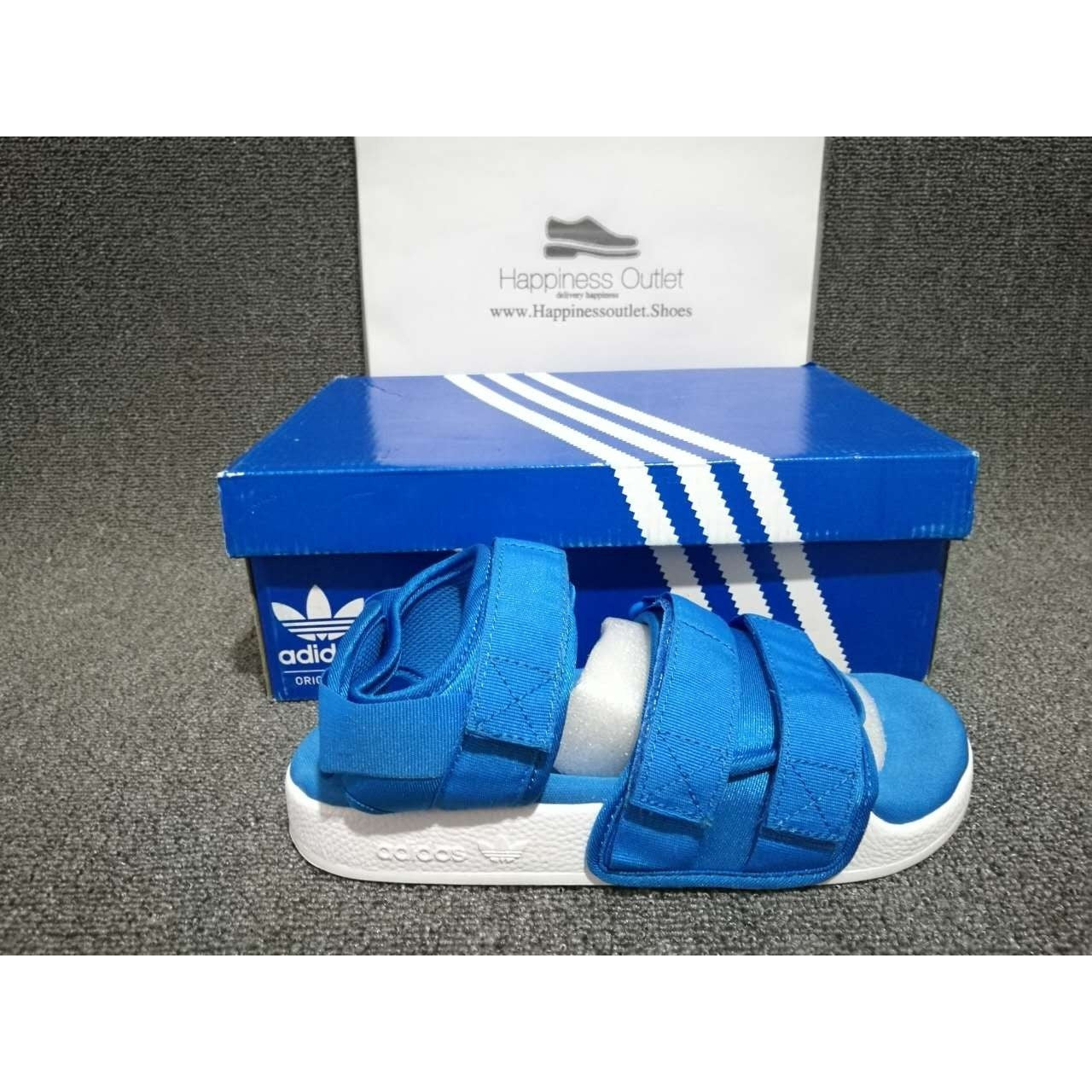 Buy adidas sandals blue   OFF66% Discounted 82fa73c7a4443
