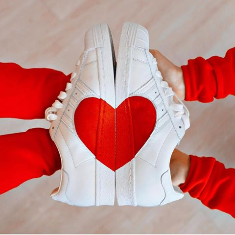 Adidas Superstar 80s Half Heart (Tmall ORIGINAL)