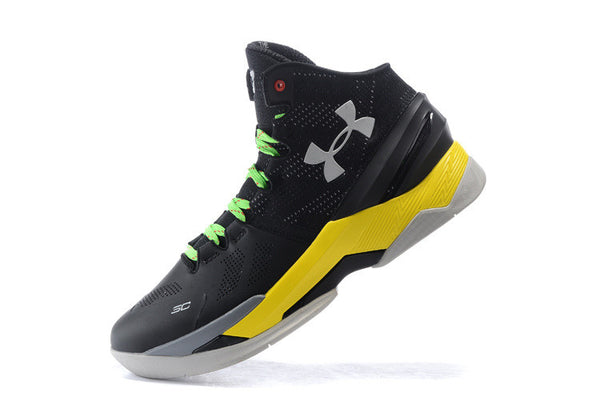 UA Stephen Curry 2 Yellow Black
