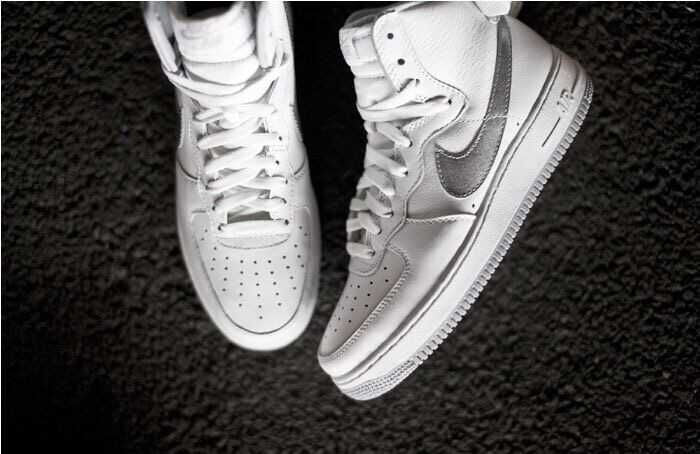 Nike Air Force I Mid High All White