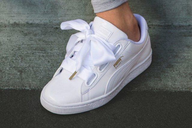 puma basket heart de