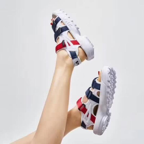 FILA Disruptor Sandal 'Navy/Red/White'