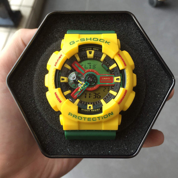 G-Shock GA110RF-9ADR Yellow / Green