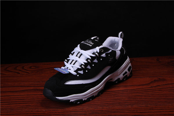 SKECHERS D'Lites Black/White