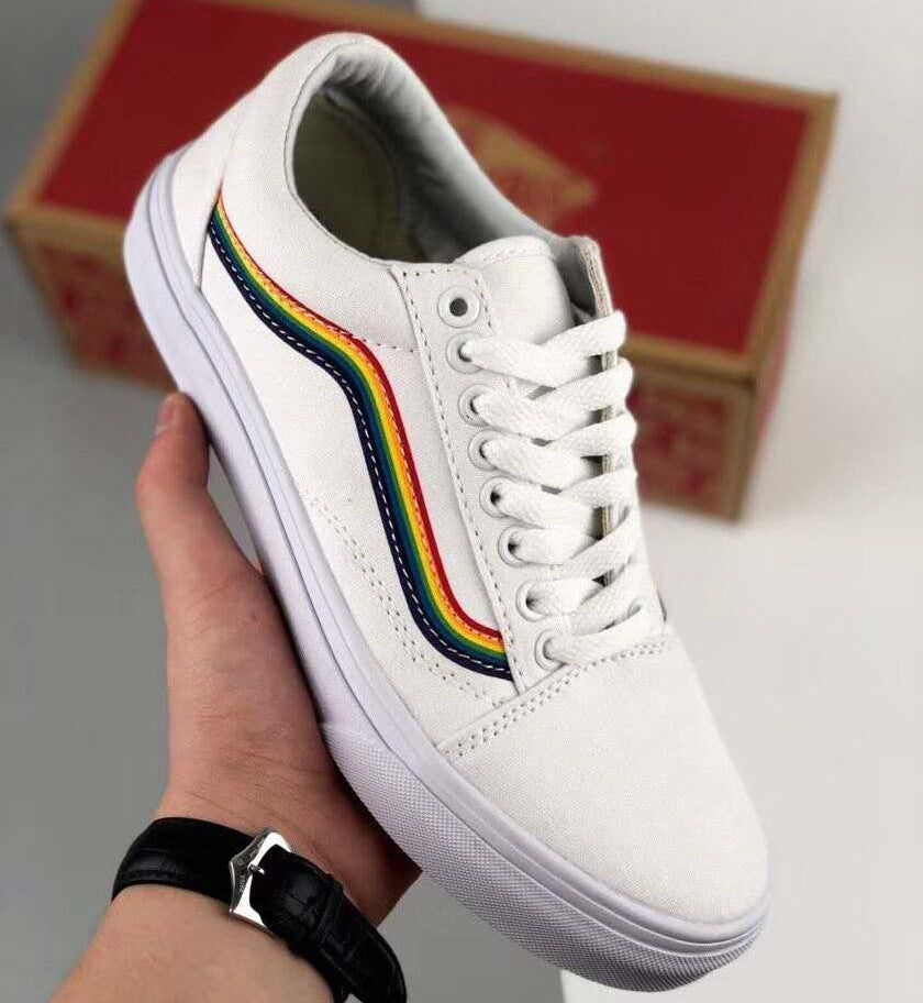 vans rainbow old skool