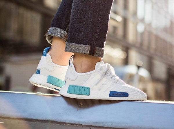 Cheap Adidas NMD R2 PK Black White SNEAKERS ADDICT