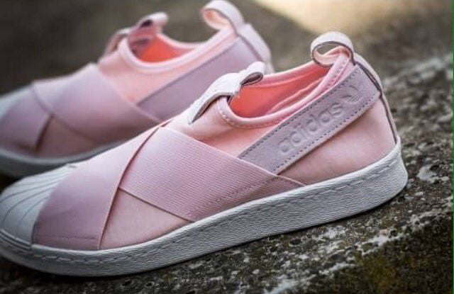 info for 54a6c 2fef5 adidas superstar slip on Pink