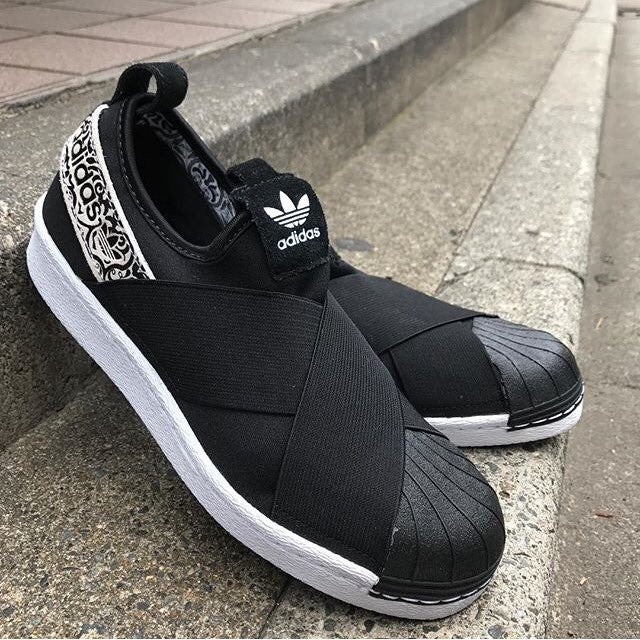 Superstar Slip On 'Core Black/Footwear White'