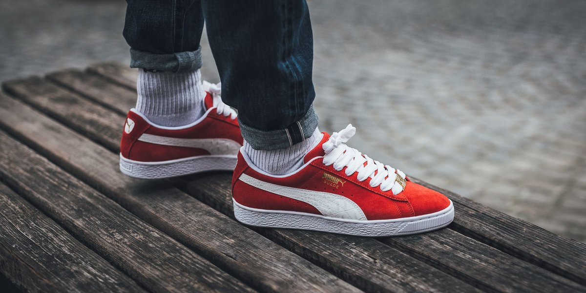 0075ede197ad Puma Suede Classic Bboy Fabuloud Red