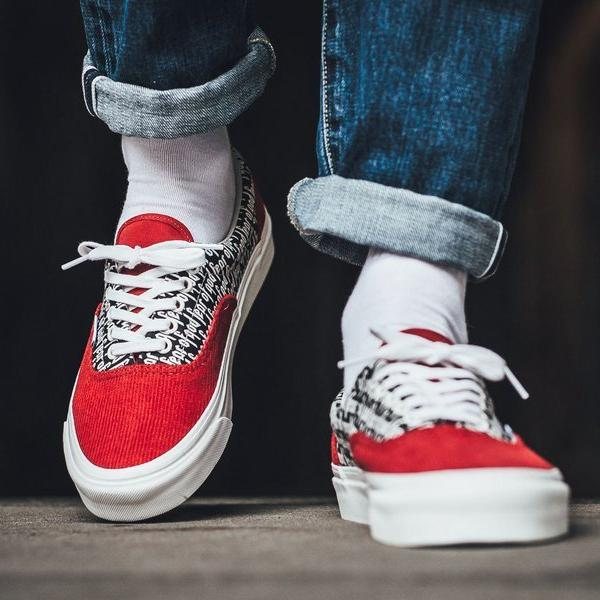 e9418e87356 Fear of God x Vans Vault UA ERA 95 DX Red