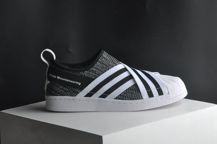 Superstar Slip On White Mountaineering Grey / Black