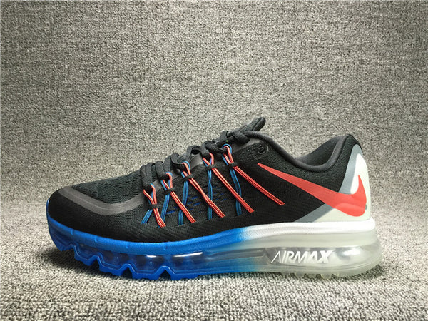 Nike Air Max 2015 Black / Hot Lava / White