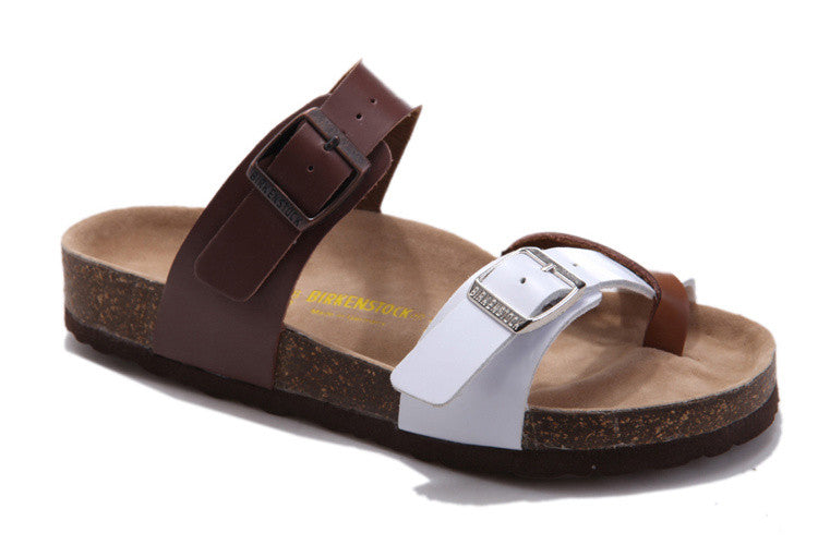 Birkenstock Mayari Brown/White