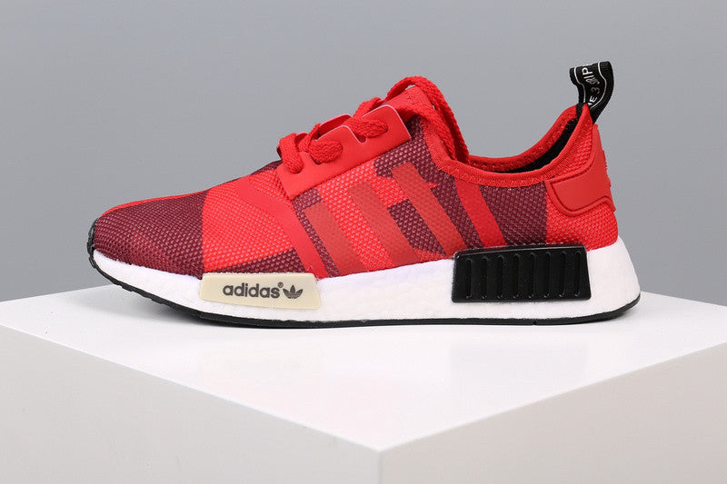 NMD Geometric Camo RED / BLACK