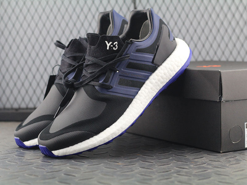 3a593026f4e1d adidas y 3 pure boost cheap blue and purple shoes