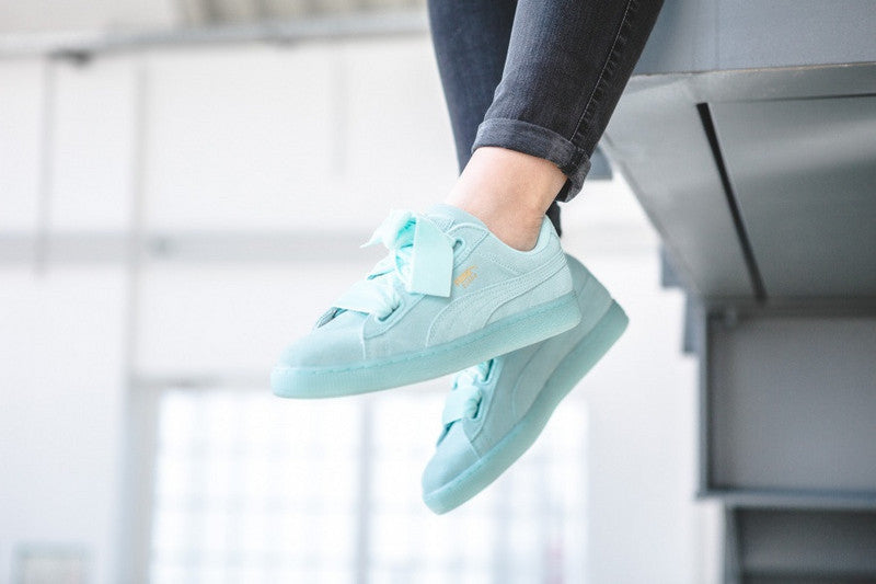puma basket heart light blue af377469b