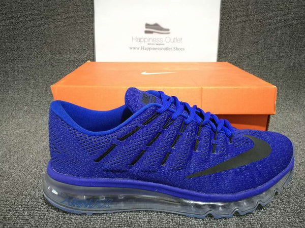 "Nike Air Max 2016 KPU Blue ""Black Logo"""