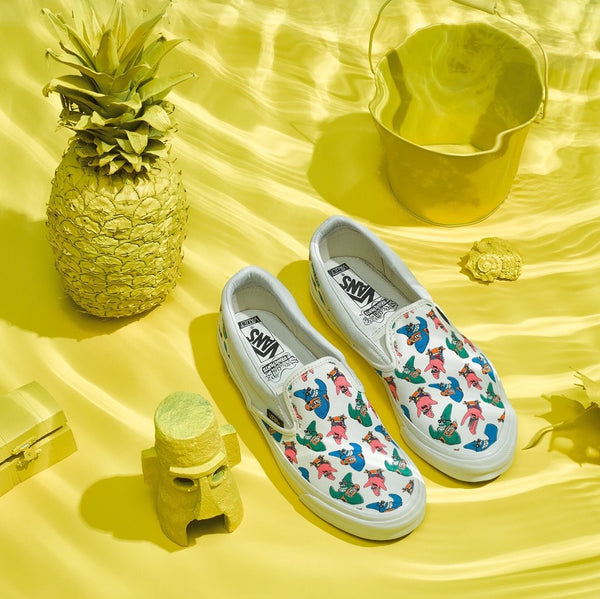 Vans Vault x SpongeBob OG Classic Slip On LX 'Checkerboard Block'
