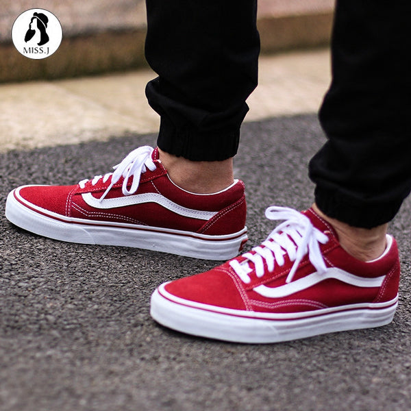 1143c90e5bfd red flower vans Sale