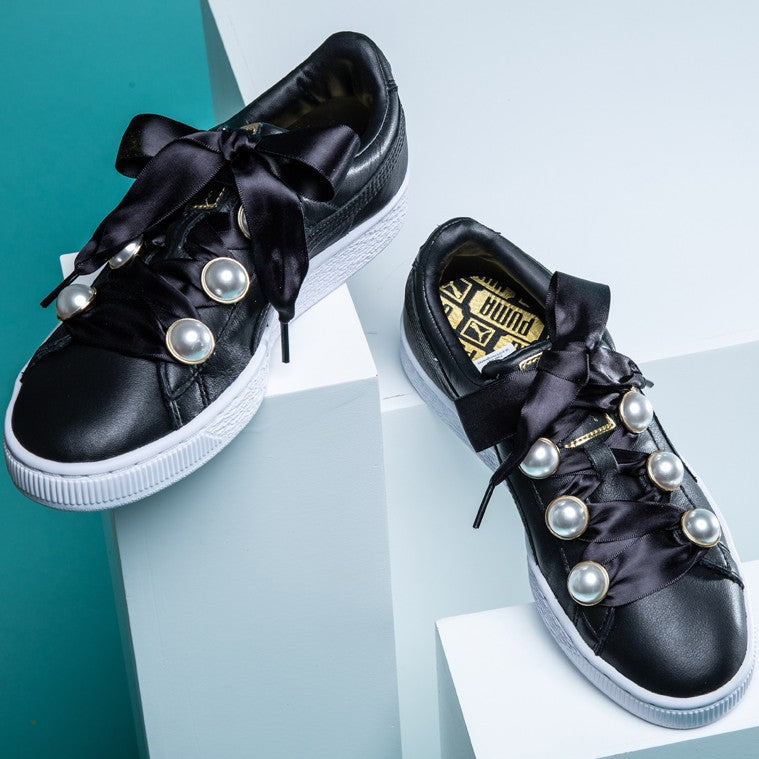 Puma Basket Bling Black