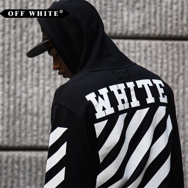 off white black white off hoodie