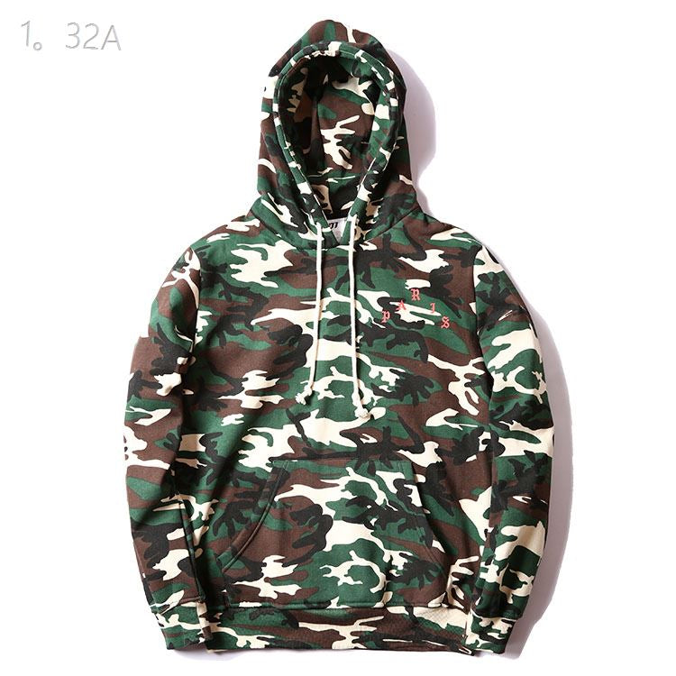 Anti Social Social Club Paris Camo Hoodie