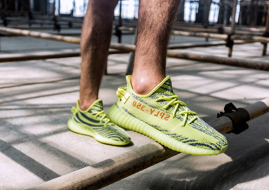 adidas originals yeezy boost 350 v2 semi frozen yellow