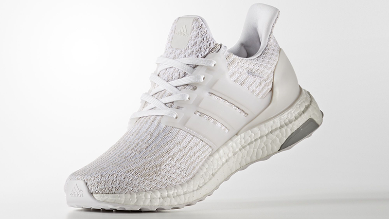 c4dcef2ccdc51 Adidas Ultra Boost 3. 0 Triple White Men s Women s Running Shoes