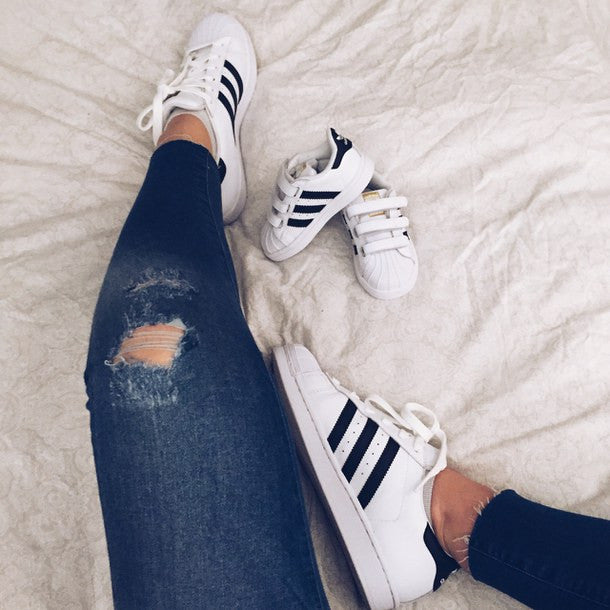 Adidas KID Superstar White