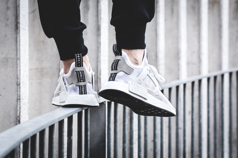 ADIDAS NMD XR 1 Pure White PK Upper BB 1967 US 11 Rare Size - Trading Area (New Products)