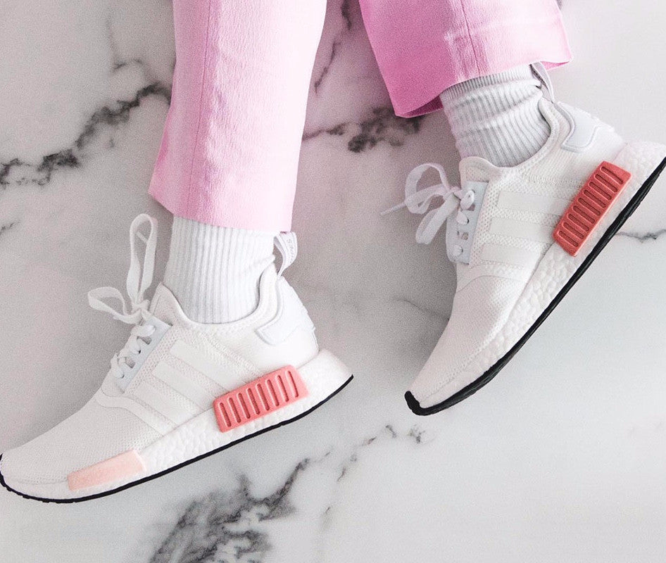 Raffle: Inflammable x Adidas NMD_R1 PK Gum Pack Features