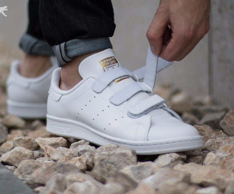 adidas stan smith with velcro