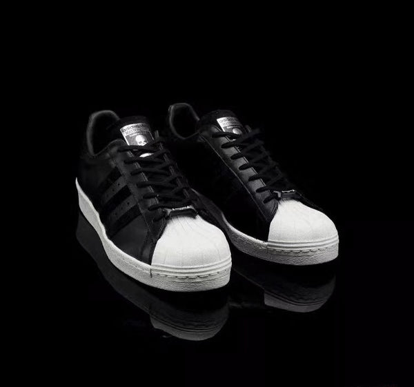 "Mastermind JAPAN X Superstar 80s ""Black/White"" #1"