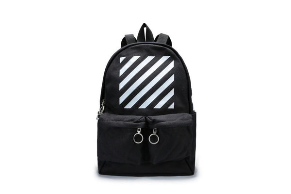 "Off-White "" Diagonal Printed Backpack "" (Tmall ORIGINAL)"