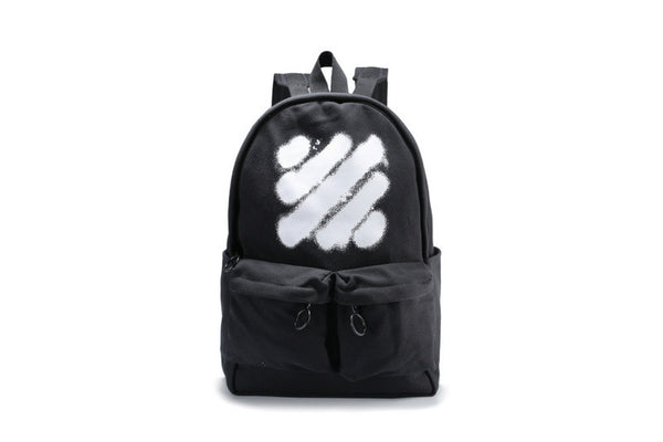 "Off-White "" Black Diagonal Spray Backpack "" (Tmall ORIGINAL)"
