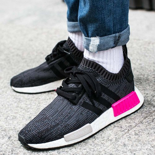 ba75cbd4d06fe S31510 adidas NMD R1 Denim Orange Mens Sz 12 US