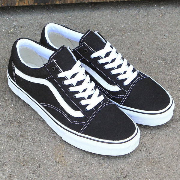 harga vans old skool black black