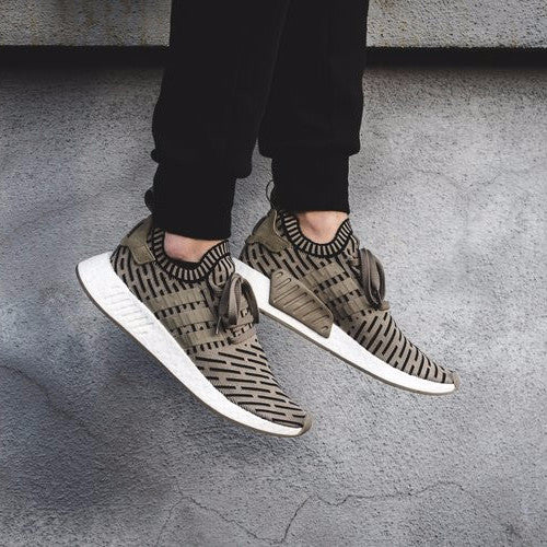 adidas NMD R2 Primeknit White/Black / Available Now