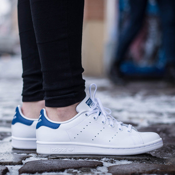 women's adidas stan smith blue