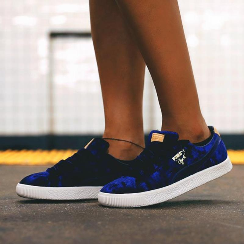 puma x extra butter clyde royal blue. Black Bedroom Furniture Sets. Home Design Ideas