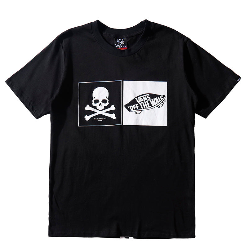 "Mastermind Japan X Vans ""Off The Wall"" T-Shirt"