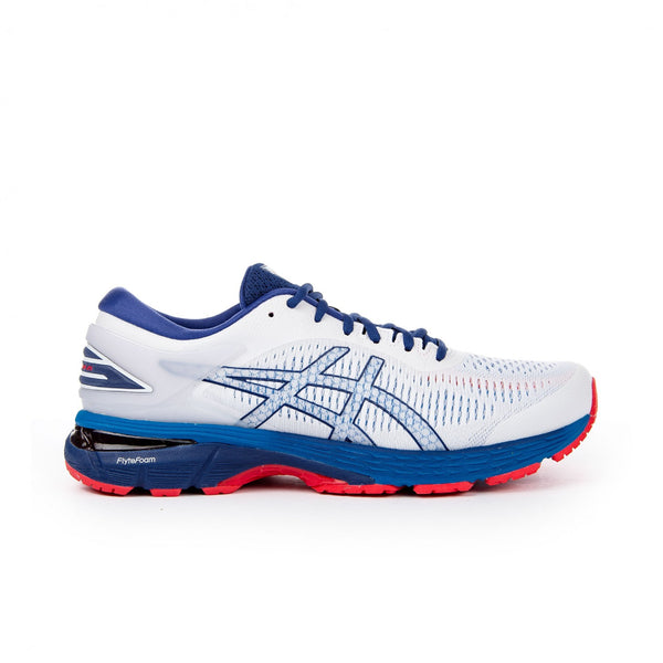 Asics Gel Kayano 25 White Blue Print