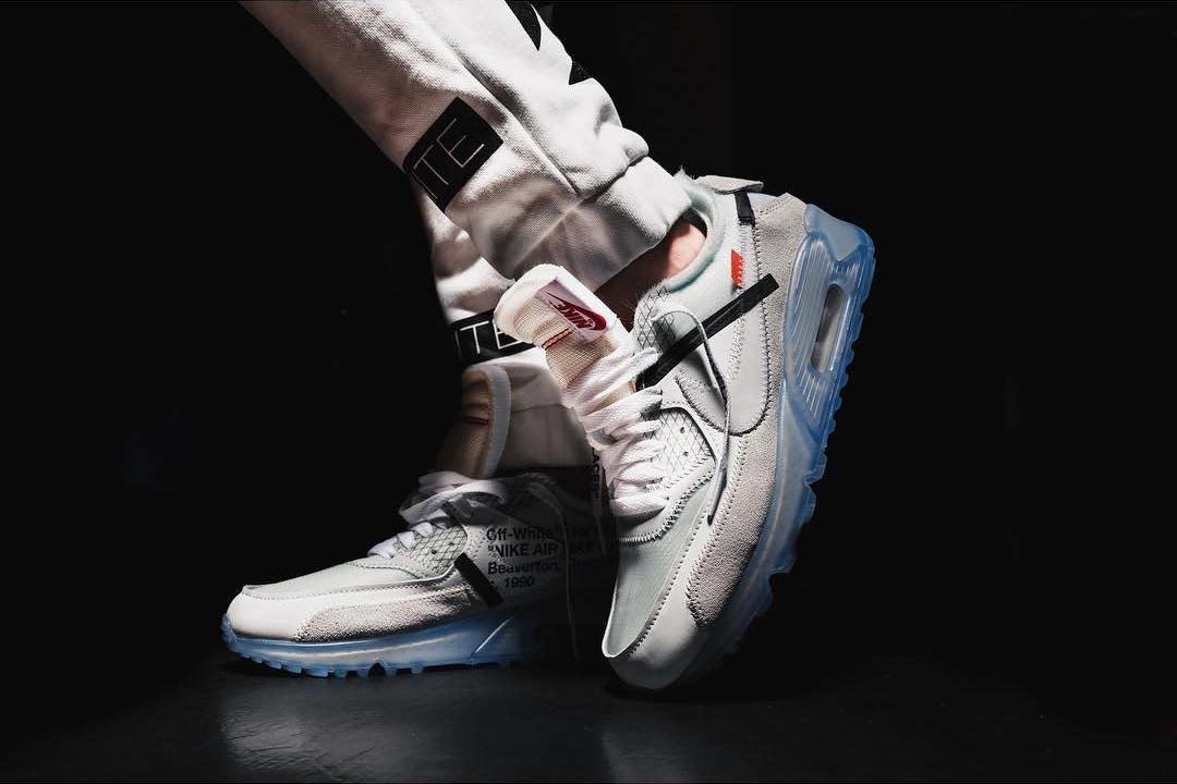 wholesale dealer c050e 2e85c ... OFF-WHITE x Air Max 90 (Tmall ORIGINAL). OFF-WHITE   Running Shoes