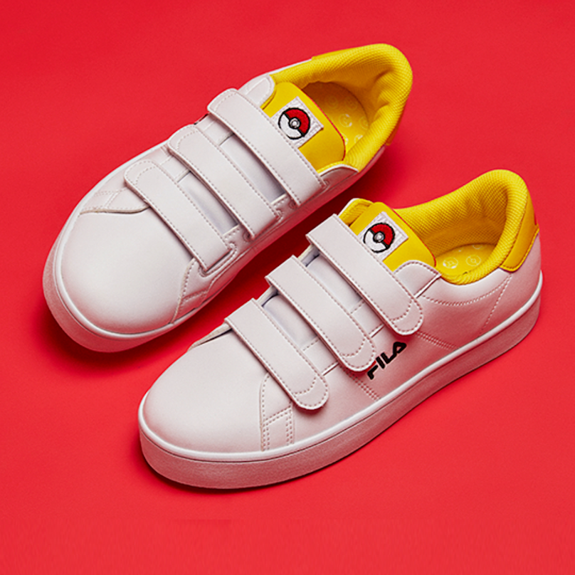 209b53c75b88 Pokemon x Fila Court Deluxe Low Pikachu