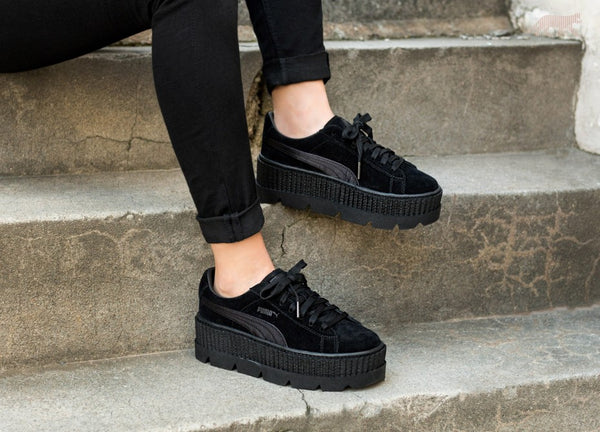 b4c9d52060f Rihanna x Puma Fenty Cleated Creeper  Puma Black