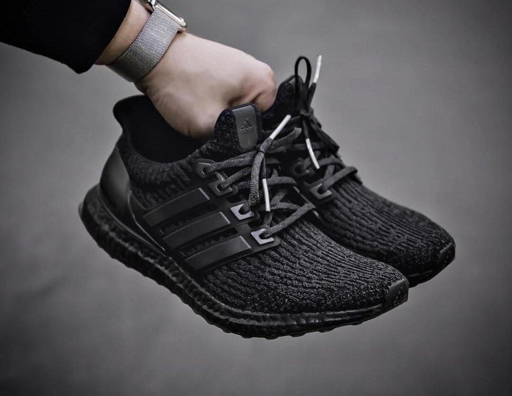 adidas ultra boost driple black