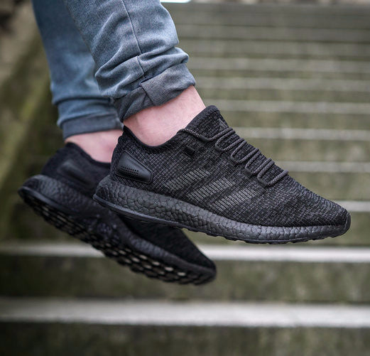 Adidas Pure Boost Shoes Black