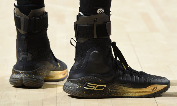 Stephen Curry Black And Yellow Shoes