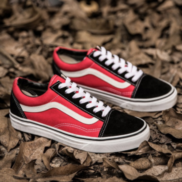 VANS Old Skool Classic - Black   Red a1016d8d5ce1